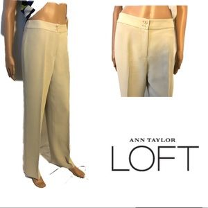 Ann Taylor Loft Lined Pants